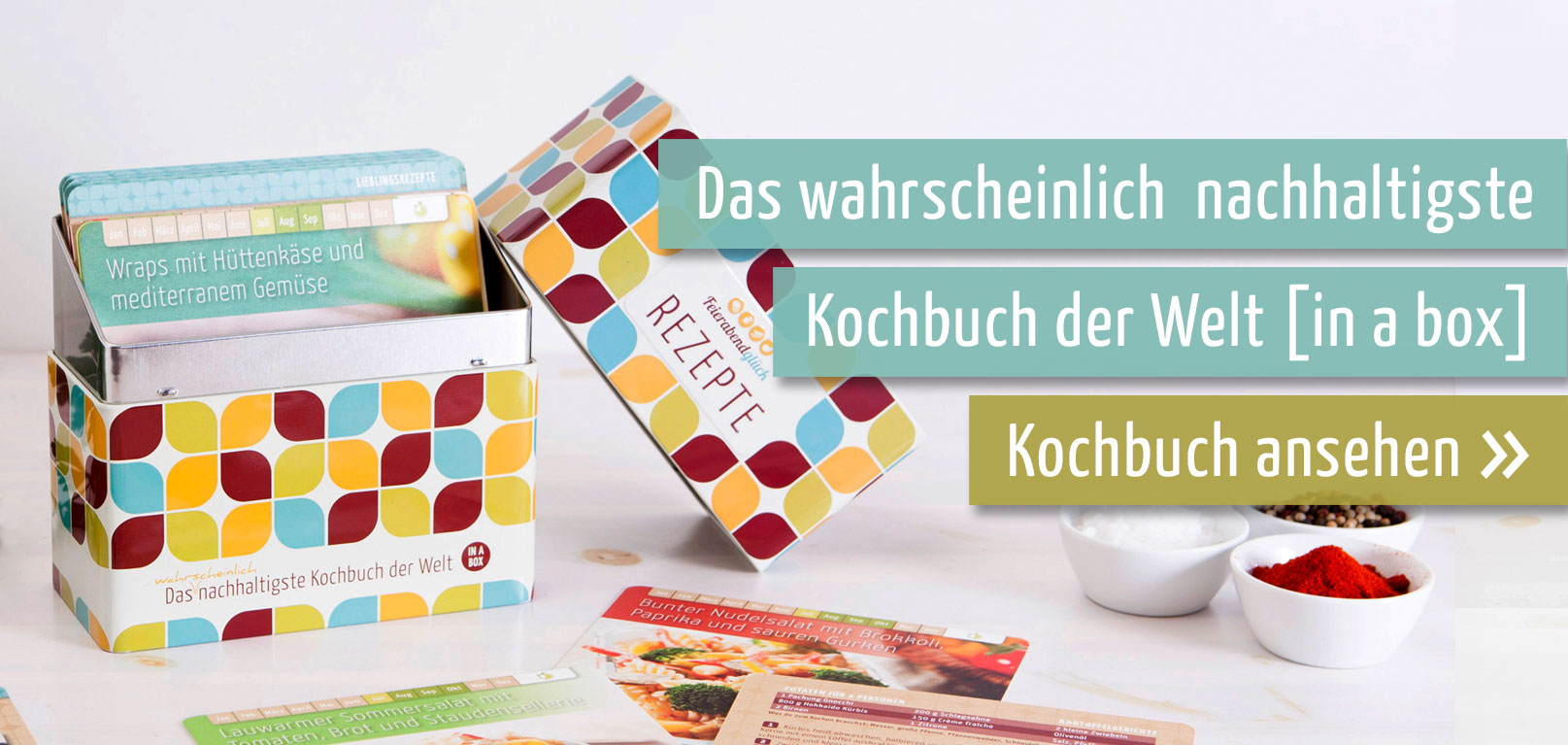 Kochbuch in a box